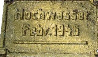 Hochwassermarke von 1946