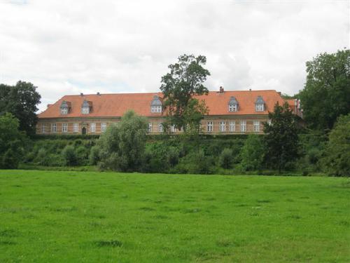 Das Schloss Landestrost in Neustadt am Rübenberge