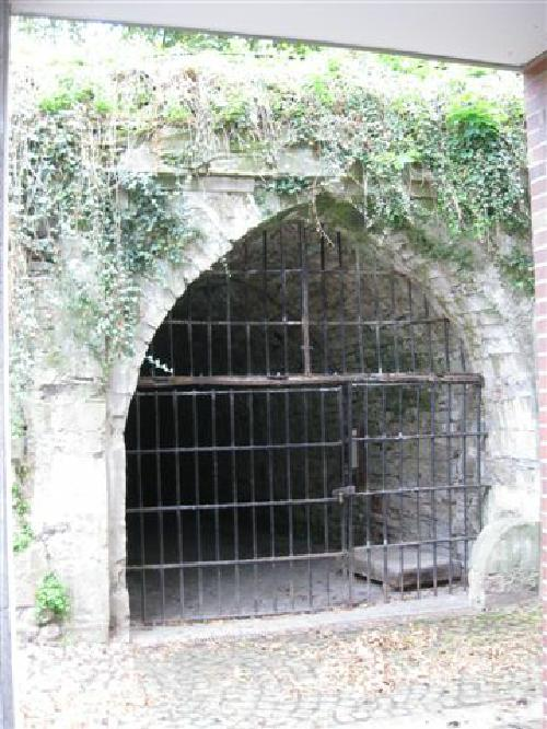 Zugang zur Kasematte unterhalb des Amtsgartens