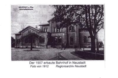 Historischer Bahnhof - ein altes Gebäude