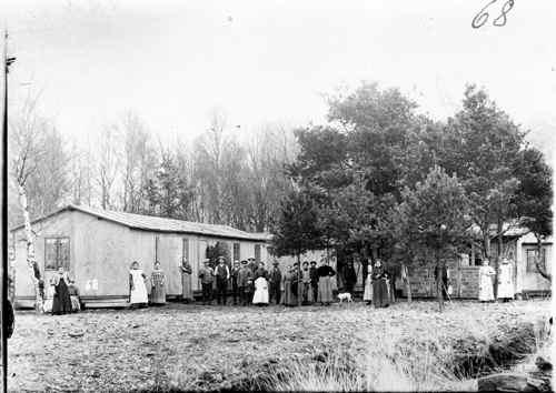 Die Bewohner der Siedlung Grossmoor.