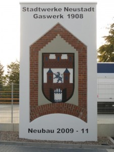 Wappen Gaswerk Neusgtadt am Rübenberge