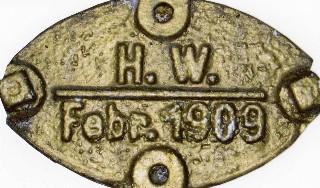Neustädter Hochwassermarke von 1909