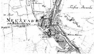 Landesaufnahme von 1771 von Neustadt am Rbge