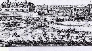 Merian Stich von Neustadt am Rübenberge von 1652