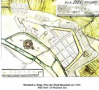 1751 ist in Neustadt kein Hafen zu finden