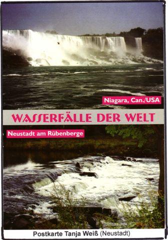 Postkartenmotiv von Tanja Weiß - Wasserfälle der Welt