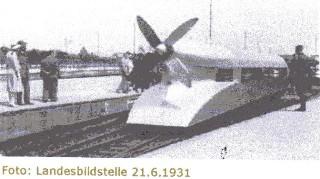 Der Schienenzeppelin auf der Teststrecke Hannover -  Bremen