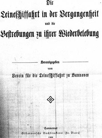 Titelblatt der Wasserfallbroschüre