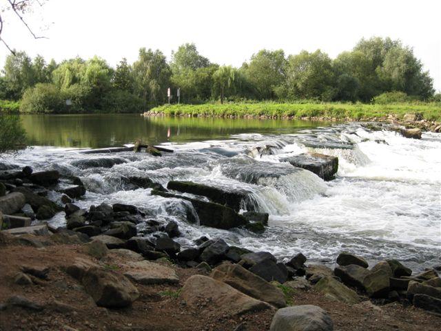 Der bis heute umstrittene Wasserfall in Neustadt