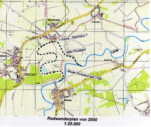 Kurhannoversche Landesaufnahme von 1780 - Wulfelade / Neustadt am Rübenberge