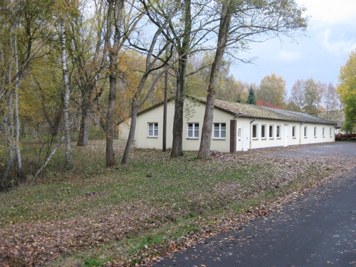 Kantinengebäude im Moor bei Neustadt am Ruebenberge