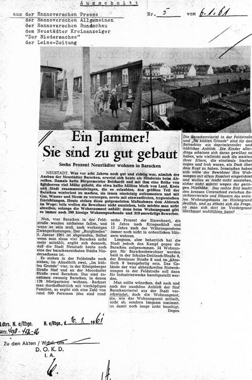 Ein Jammer in Neustadt am Rübenberge