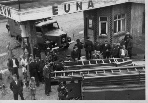 Die Tankstelle von Quitmeyer in der Marktstraße in Neustadt
