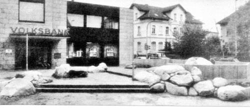 Drei Linden im Jahre 1985 (Foto:Leine-Zeitung)