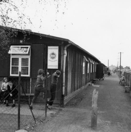 In der Feldstrasse in Neustadt am Rübenberge gab es viele Baracken