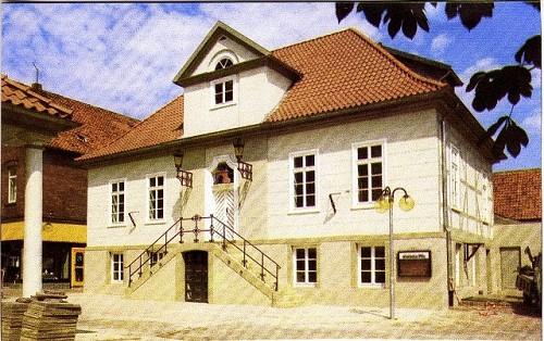 Das alte Rathaus mit Ratskeller in Neustadt am Rübenberge