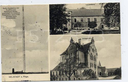 Postkarte von Neustadt am Rübenberge