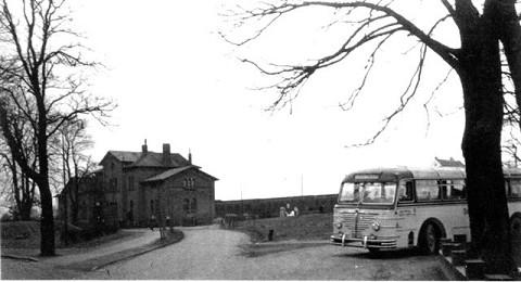 Bus des Busunternehmens Delaminsky etwa 1950- (Foto K.-H. Schwarze, Kanada)