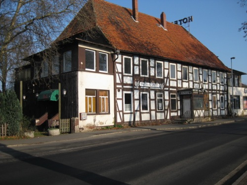 Das ehemals traditionsreiche Hotel zum Stern in Neustadt am Rübenberge