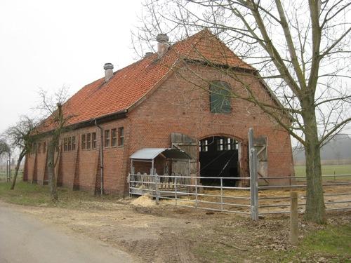 Scheune für Militärpferde in Mariensee, Allerbruchweg Foto Dyck 1/11