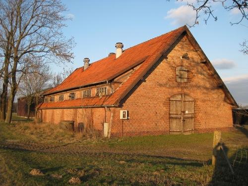 Stall der Remonte Zucht in Mecklenhorst, An den Teichen