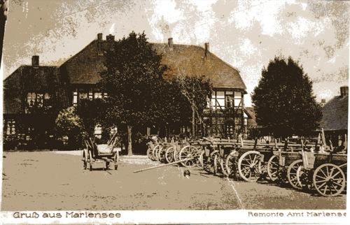 Postkarte Remonteamt Mariensee / Neustadt