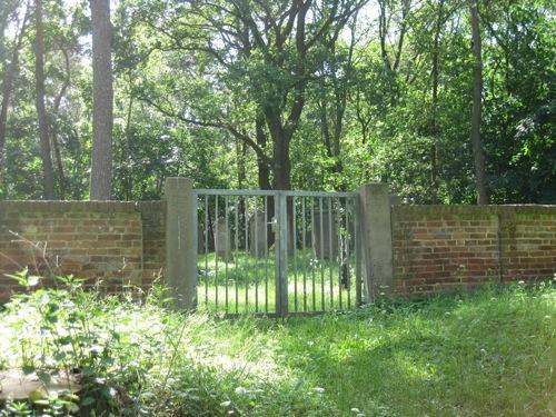 Zugang zum Judenfriedhof am Leinebogen
