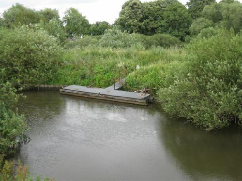 Anleger für Kanus - Foto Dyck 7/2011