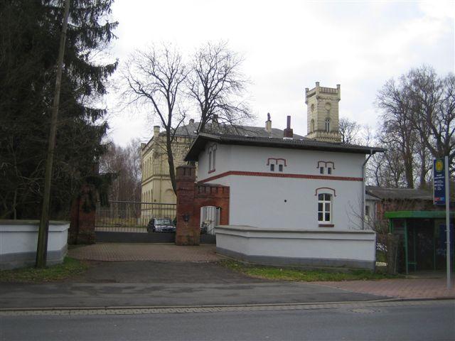 Pförtnerhaus zur Villa, möglicher Weise bereits ca 1857 errichtet