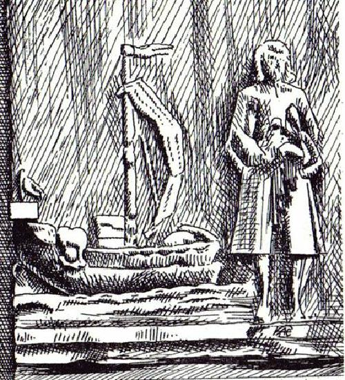 Der Schifferstein, ein Kreuz- oder Sühnestein