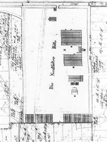 Auszug aus einer Karte der Spezialteilung und Verkopplung von 1867/68 (6)