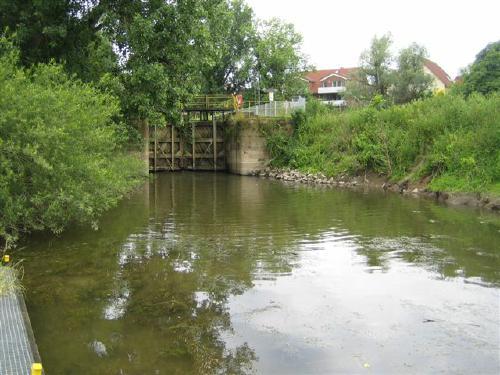 Neustädter Schleusentor - Foto Dyck Juli 2011