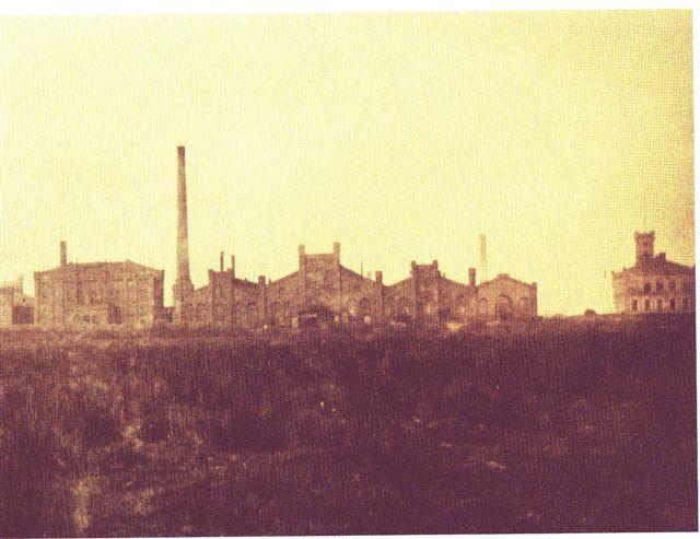 Historische Ansicht der Hütte von Westen aus gesehen. Zeitpunkt der Aufnahme unbekannt - ca. Jahrhundertwende 1900