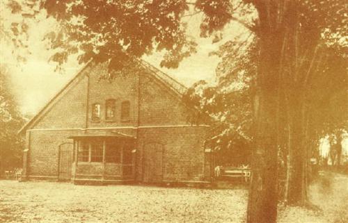 Bürgerhalle um die Jahrhundertwende