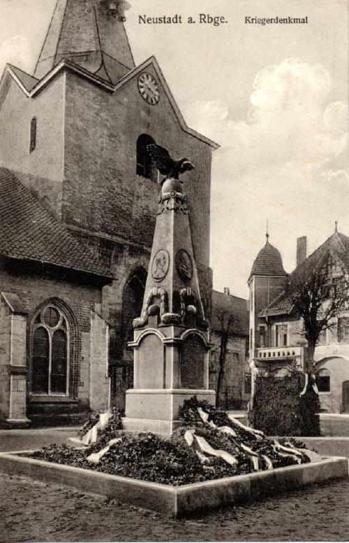Das Kriegerdenkmal zur Erinnerung der Gefallenen des Landkreises in dem Krieg 1870/71. Erreichtet und eingeweiht 1913.(Foto: privat)
