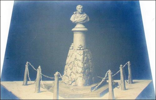 Modell des Scharnhorst Denkmals zur Vorlage beim Kaiser -Reg Arch Han Dep NRÜ K 001