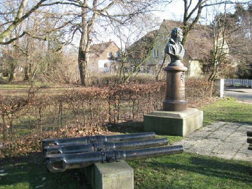Das Scharnhorst Denkmal in Bordenau zum Gedenken and den General und Heeresreformer