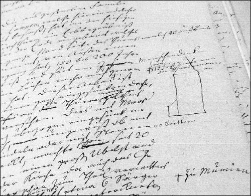 Möglicher Weise ein Auszug aus der Beschreibung des Erbbegräbnisses der von Campen 1823 (Reg Arch Hann in Neustadt, Dep NRÜ I 387)