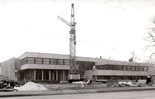 Das Neustädter Freizeitzentrum im Bau (Foto: Moldenhauer)