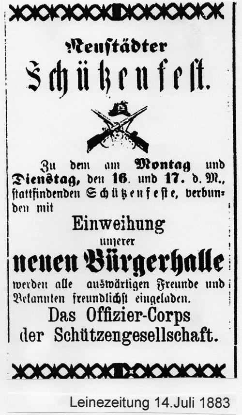Einladung zum Schützenfest