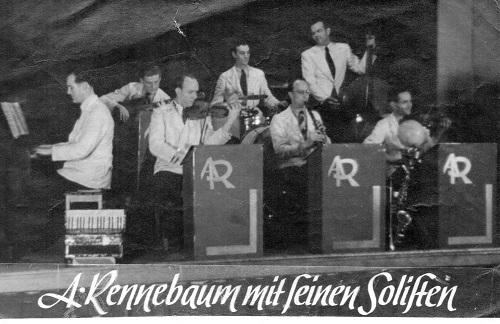 Die musikalischen Darbietungen  des Orchester August Rennebaum waren sehr beliebt und begleiteten Veranstaltungen wie z. B. das Essen der Schützen mit Damen.