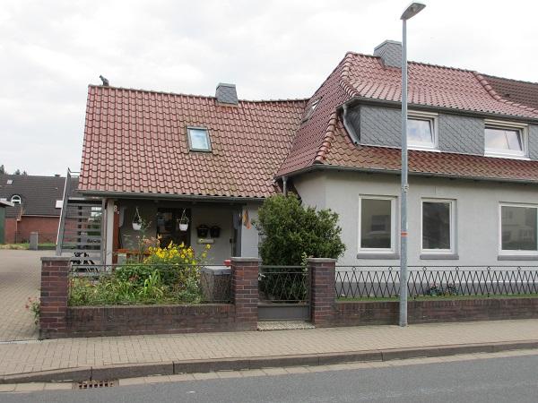 Stampfbeton- Haus an der Marschstraße / Neustadt am Rübenberge