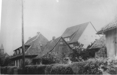 Stampfbetonhaus an der Wunstorfer Straße