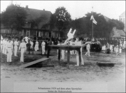 Der Männer Turn Verein, MTV, heute TSV Neustadt.