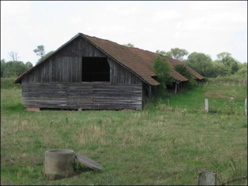 Überreste der alten historischen Ziegelei in der Leine Marsch zwischen Suttorf und Neustadt