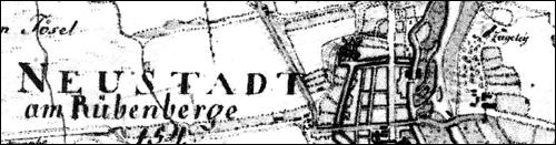 Kurhannoverschen Landesaufnahme von 1771 - Hier ist die Ziegelei dargestellt.