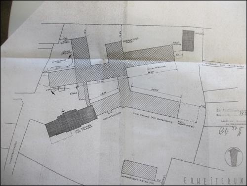2.Vorentwurf des Architekten Dr. Ing Wilh. Wietfeld 17.4.1950