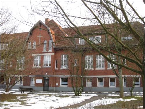 Ehemaliges Krankenhaus, heute Bauamt, im Jahre 2014