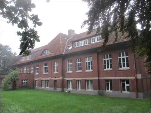 Rückseite des Krankenhauses Erweiterungsbau, Foto 2014